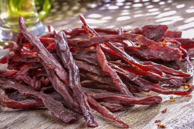 Buffalo spicy jerky